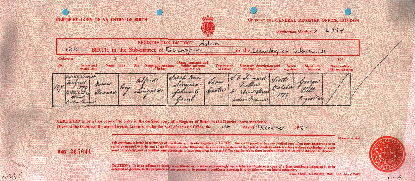 Owen Howard Linyard 1879-1946 (Birth Certificate).jpg