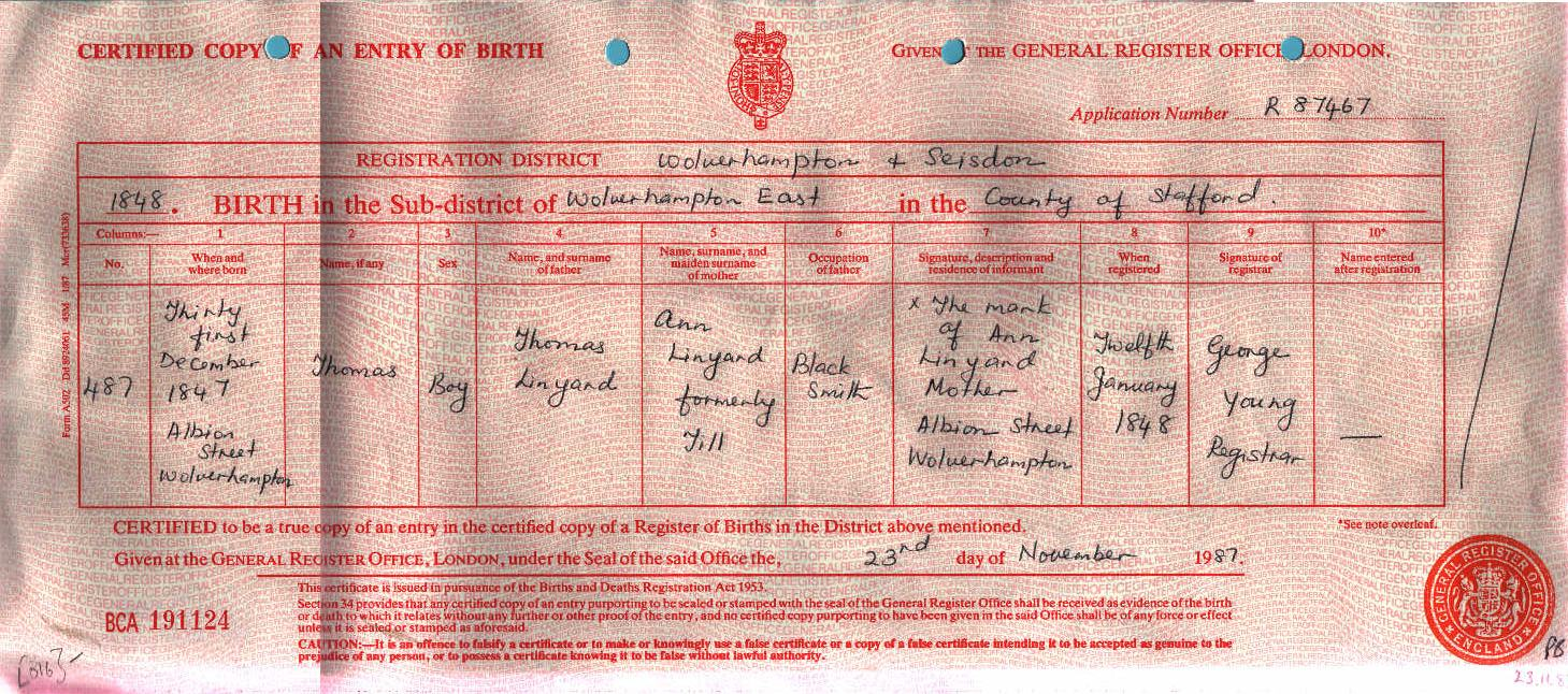 Thomas Linyard 1848-1923 (Birth Certificate).jpg