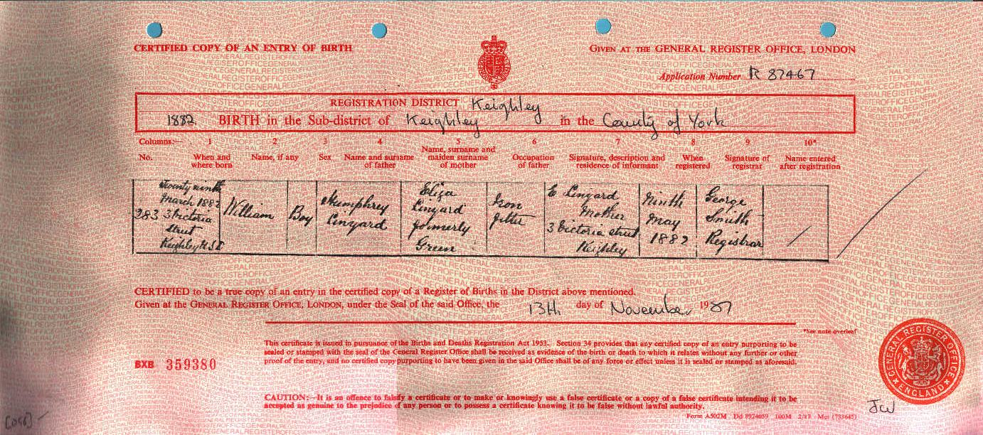 William Linyard 1882-1931 (Birth Certificate).jpg